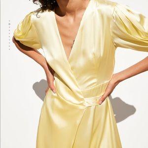 Zara Dresses - Hello Satin Dress